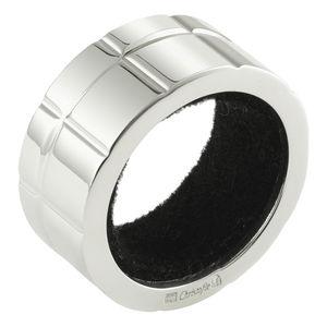 Serviettenhalter / versilbertes Metall