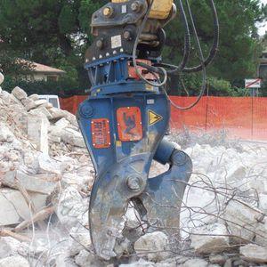 hydraulische Abbruchzange
