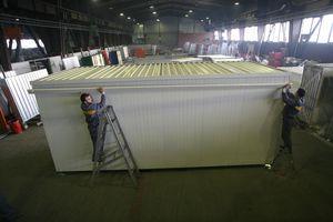 Baucontainer für gewerbliche Nutzung / Industrie / Privathäuser / für Büro