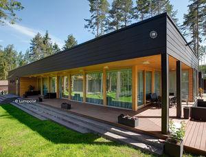 Fertigbauhaus / modern / Brettschichtholz / Öko