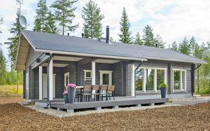 Fertigbauhaus / klassisch / aus Holz / Öko