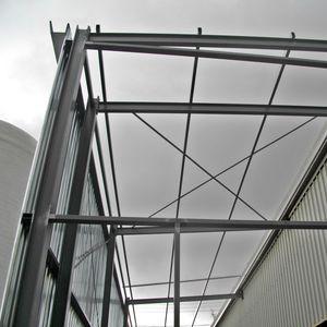 Stahlstruktur für Industriegebäude