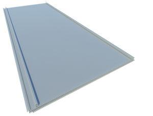 Polycarbonat-Platte / Waben / für Dächer / lichtdurchlässig
