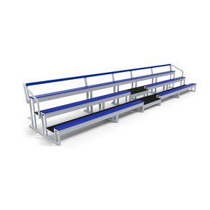 Holzsitztribünen / Stahl / Aluminium