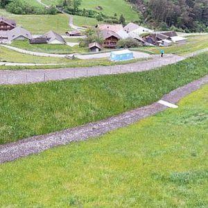 Stein-Stützmauer / bewehrter Erde / Verkehrs / für Rohrleitungen