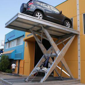 hydraulische Parkhebebühne