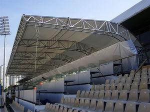 Vordach für Stadion