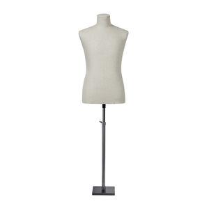 Mann-Büste / abstrakt / ohne Kopf / weiß