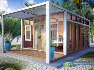 Bungalow-Stil-Haus