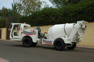 hydraulischer Fahrmischer / Diesel / für Beton / für Untertagebau