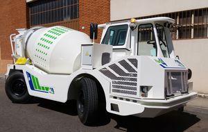 Diesel-Fahrmischer / für Beton / für Untertagebau
