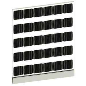 Photovoltaik-Modul für Balkon