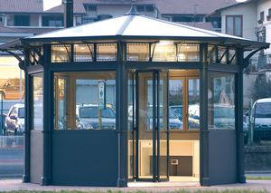 Kiosk für gewerbliche Nutzung / verzinkter Stahl / Aluminiumguss