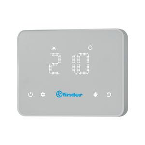 programmierbares Thermostat / wandmontiert / für Heizungen / für Klimaanlagen