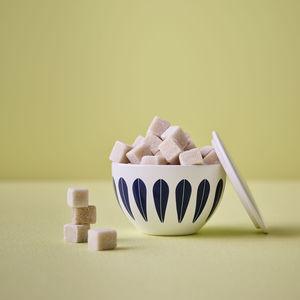 Keramik-Zuckerdose