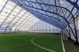 Metallrahmen-Flächentragwerk / PVC-Folie / für Events / für Stadion