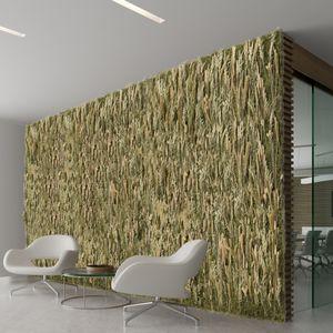 kundenspezifische Wandbegrünung / dichtes Blattwerk / Innenraum