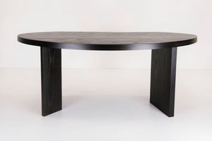 Schreibtisch aus Eiche / aus Esche / modern