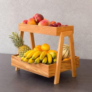 Holz-Obstschale / für Hotels / für Restaurants
