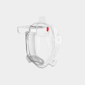 Filter-Schutzmaske / druckgesteuert