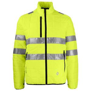 Arbeitsjacke / Warnschutz / Polyester / orange