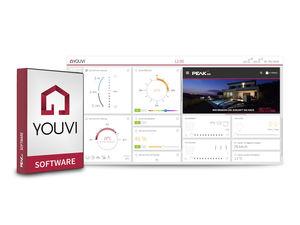 Lichtsteuerungssoftware / Überwachung / für die Gebäudetechnik / für Hausautomationssystem