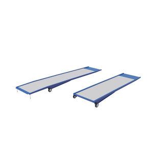 Metall-Zugangsrampe / für Schwellen / tragbar