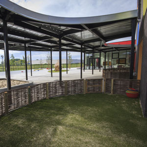 Eingang-Vordach