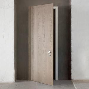 Tür für Innenbereich / einflügelig / Holz / mit Sicherheitsglas