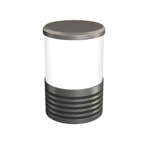 Garten-Leuchtpoller / modern / aus lackiertem Stahl / LED RGBW