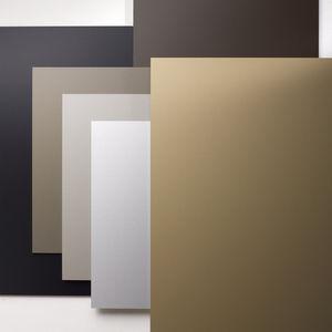 Verbundplatte für Bauanwendungen / anodisiertes Aluminium / für Sonnenschutz / für Fassadenverkleidung