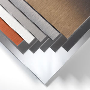 Verkleidungs-Verbundplatte / Metall / für Fassadenverkleidung