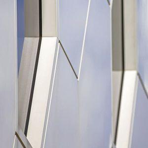 Platten-Fassadenverkleidung / Aluminium / Verbundwerkstoff / glatt