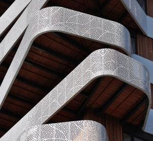 Verkleidungspaneel / Metall / für Geländer / für Fassadenverkleidung