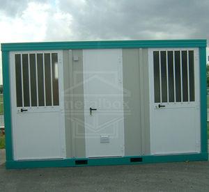 Fertigbau-Gebäude / Metall / Stahlrahmen / Umkleideräume