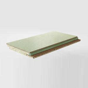 thermo-akustische Isolierung / Steinwolle / aus Holzfaser / Kokosfaser