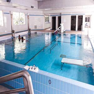 Schwimmbecken zum Aufstellen / erdverlegt / Vinylesterharz / Objektmöbel