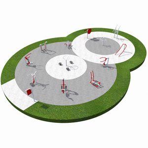 Fitnesspark für Spielplätze / für Schulen