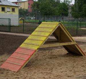 Skateboardrampe für Bikeparks / Holz