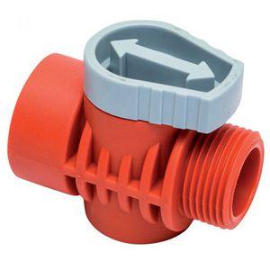 Steuerungs-Bewässerungsventil / manuell / Messing / PVC