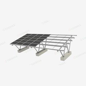 Metall-Carport / für Parkplätze / mit integrierten Solarmodulen