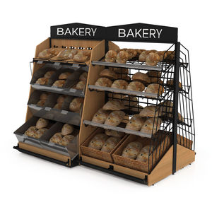 Ablageregal für Brot