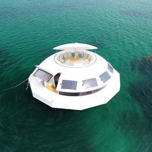 schwimmende Mikrohaus / Modul / modern / Beton