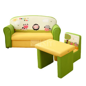 moderne Tisch- und Stuhlkombination