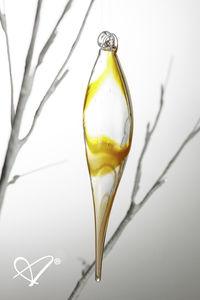 Christbaumschmuck / geblasenes Glas