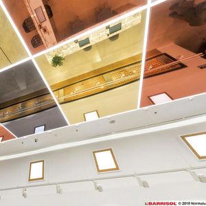 deckenmontierter Spiegel / modern / Objektmöbel