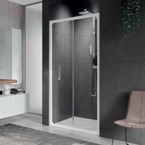 faltbare Duschwand / für Nischen / Glas / für Privatgebrauch