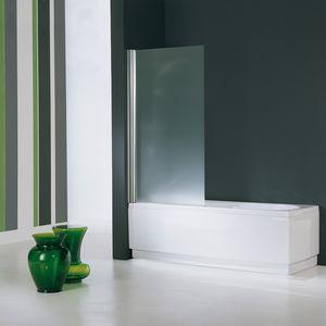 einflügeliger Badewannen-Duschwand