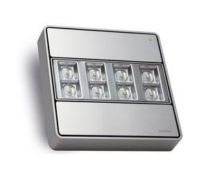 Notbeleuchtung für Aufbau / quadratisch / LED / Aluminium
