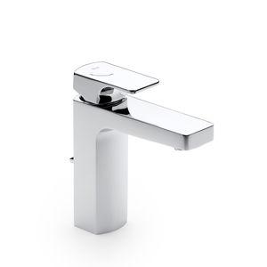 Einhebelmischer für Waschtisch / für Theken / eingebaut / verchromtes Metall